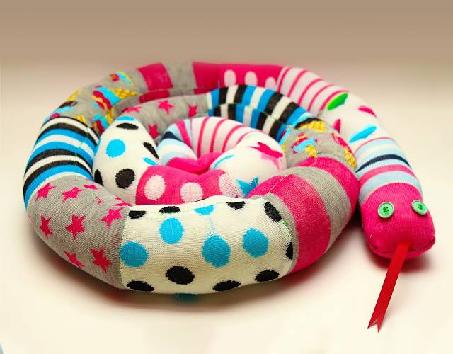 serpent chaussettes