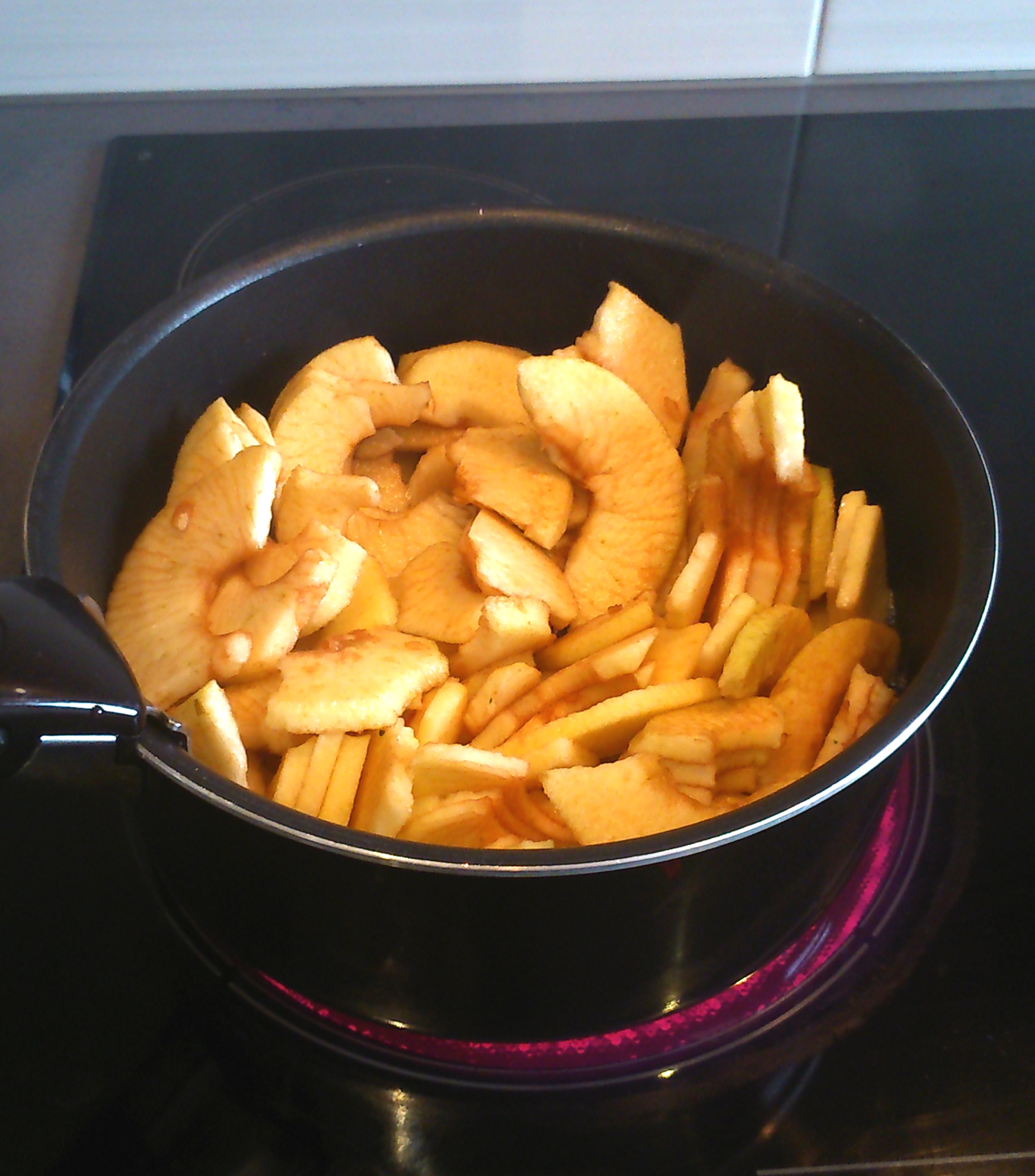 cuisson pommes