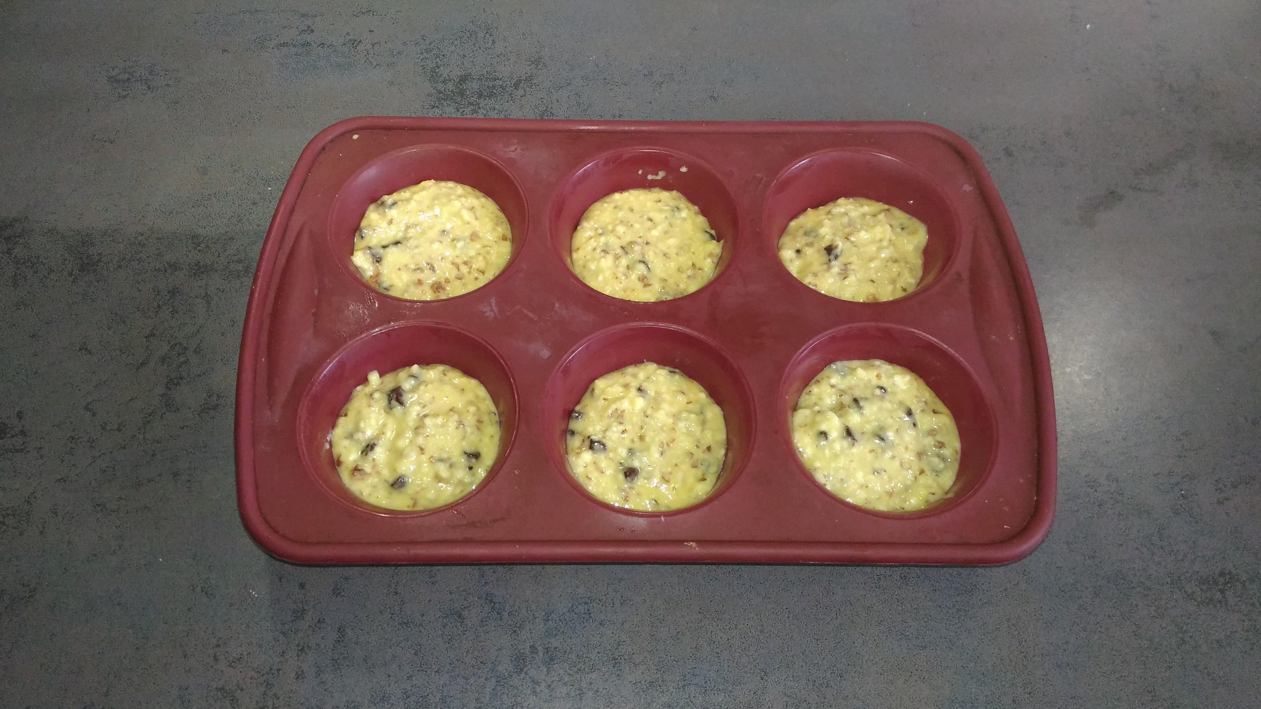 muffins amandes
