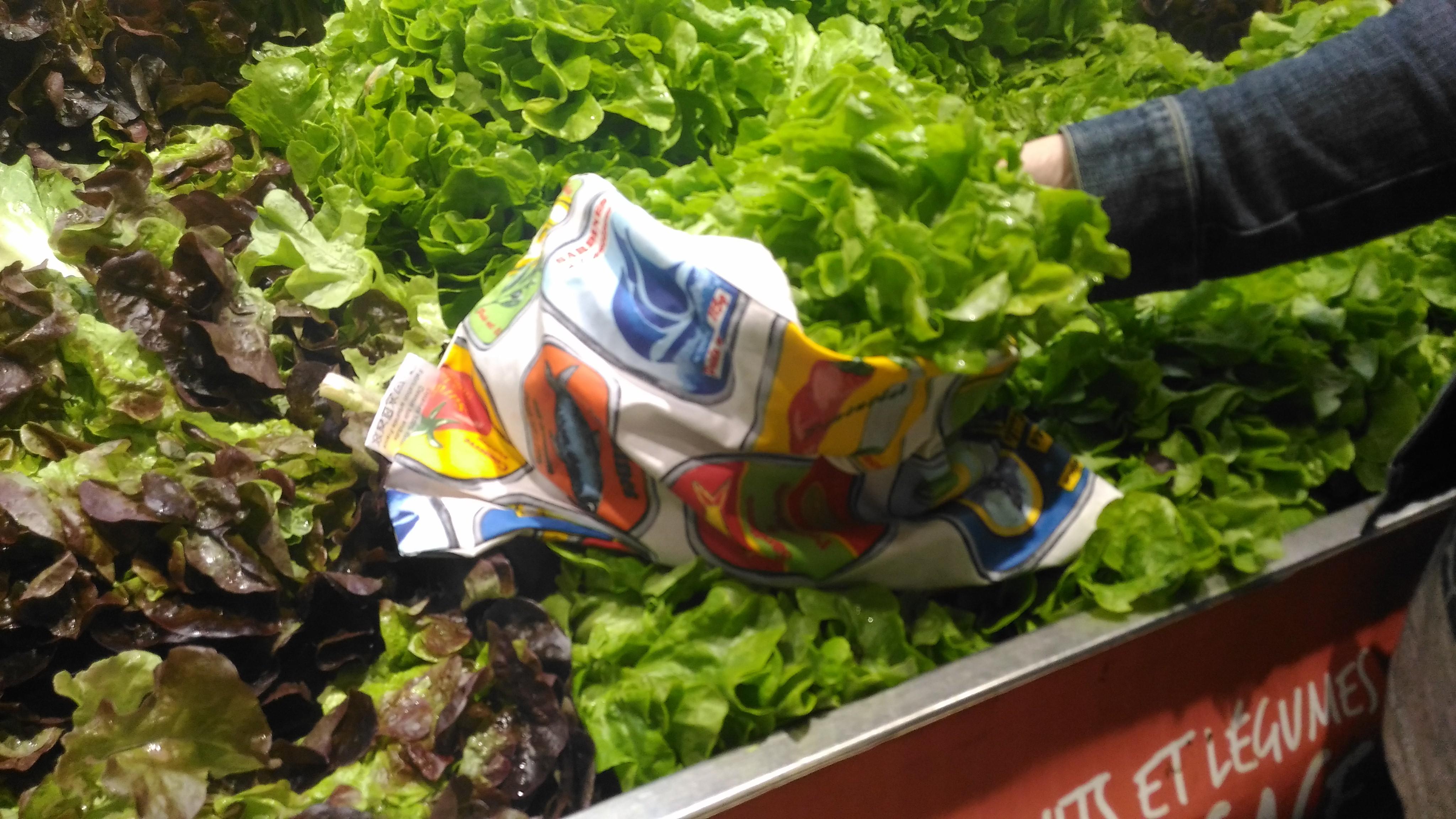 salade zero dechet