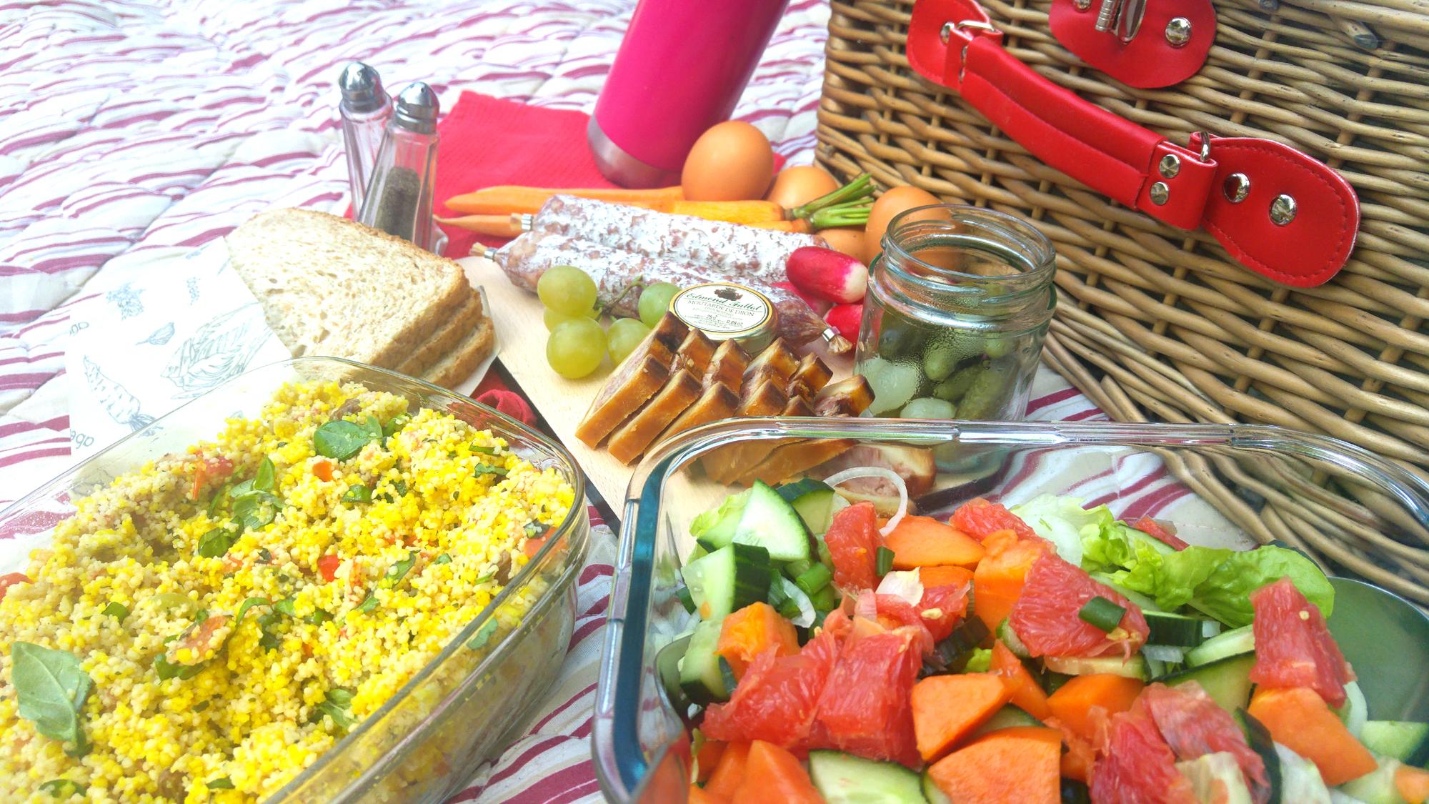 picnic zero dechet nature
