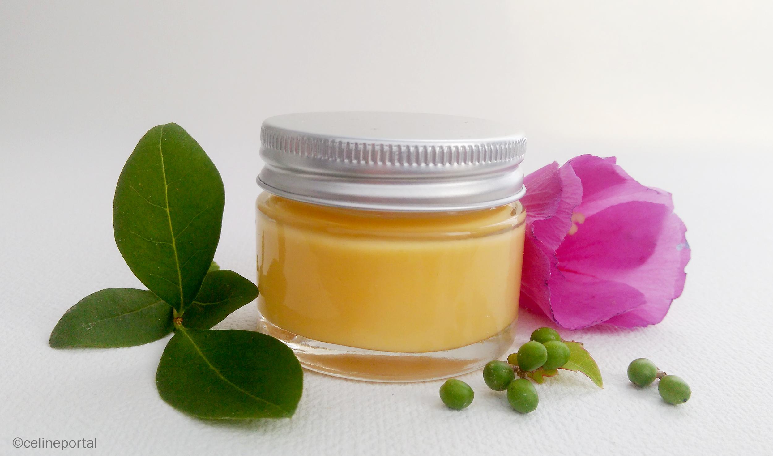 creme cosmetique peau fait maison zero dechet DIY
