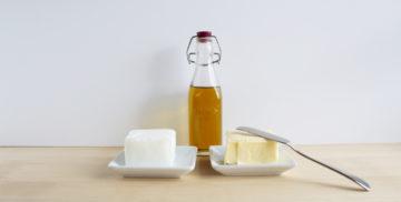 huile olive beurre saindoux